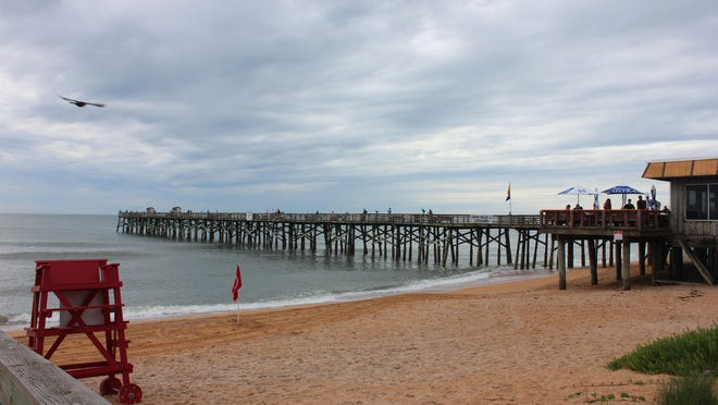 The Flagler Beach Pier reopened to the public at 9 a.m. Friday.