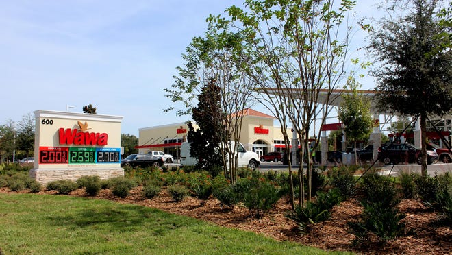 Sitting alone and decorated with a traffic light, pristine pavement and neat green grass, the 12-pump gas station is the only developed area in Granada Pointe, which consists of four parcels of land, according to Volusia County's Property Appraiser website.