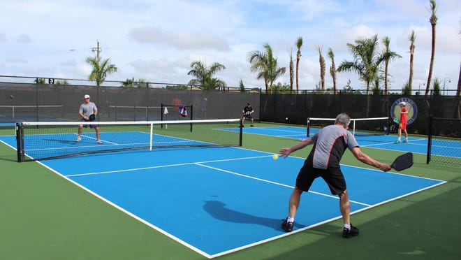 The inaugural World Pickleball Open held in Port St. Lucie last month drew nearly 300 amateur and professional pickleball players.