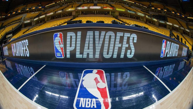 The NBA is in talks with The Walt Disney Company for the rest of the regular season and playoffs to be played in Central Florida.
