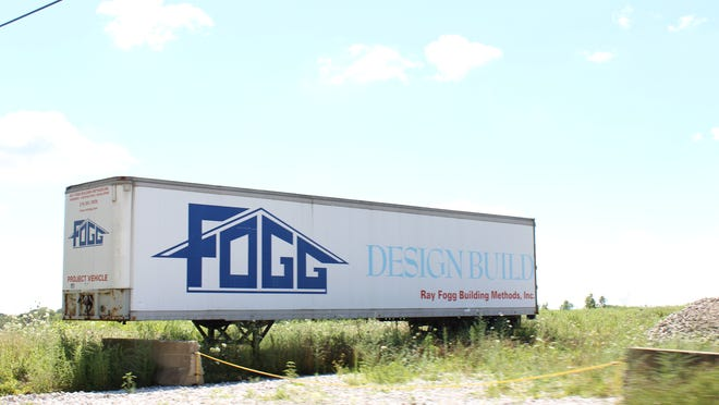Fogg Corporate Properties is asking the city of Stow for reimbursement of a waterline to develop 120 acres on the west side of state Route 8 on Seasons Road. The waterline is estimated to cost $277,000 or 6.9% of the $4 million project.