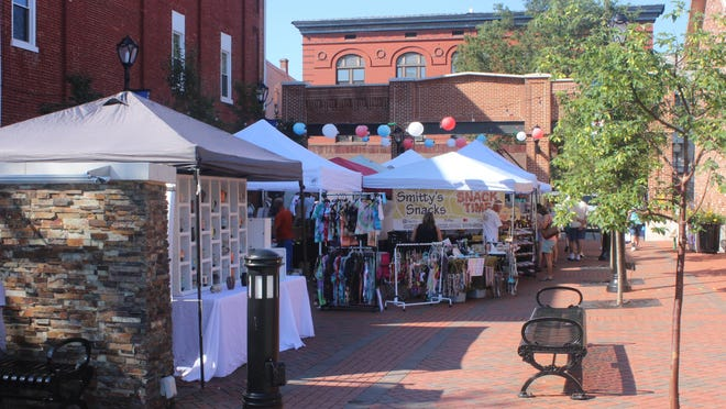Despite the searing heat, Waynesboro's Market Days went on as usual on Saturday morning. Vendors from Franklin County and beyond showcased their food and crafts at the weekly event. According to Mainstreet Waynesboro Inc., over 600 people and 24 vendors attended Saturday's event.