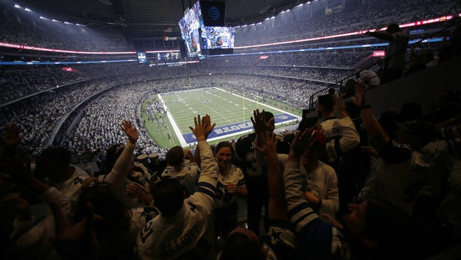 How many fans the Dallas Cowboys will have for their NFL opener remains to be seen, but team owner Jerry Jones is hoping he'll have a near-capacity crowd while other teams in the league will start the season with no fans.