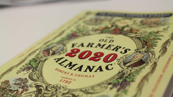 """If you like """"The Old Farmer's Almanac,"""" you can get the online newsletter as well as listen to the podcast."""