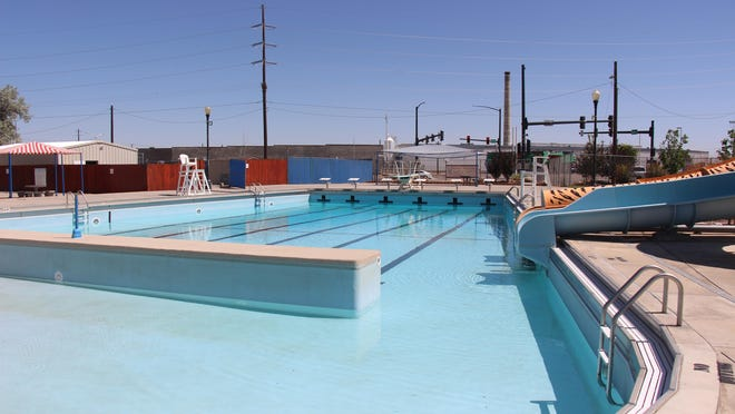 Crews started to get the La Junta Wipeout Pool ready for business on Thursday. The pool is tentatively scheduled to open next week.