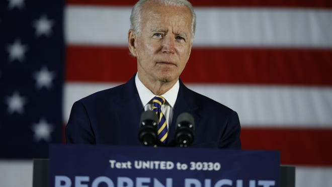 """Former Vice President Joe Biden said on COVID-19, Donald Trump said that """"maybe if you drank bleach you may be okay."""" Is that true? PolitiFact explores."""
