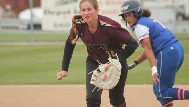 Daily Express file photo of Schuyler County's MaKinley Aeschliman.