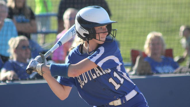 Daily Express file photo of Scotland County's Kylee Stott.