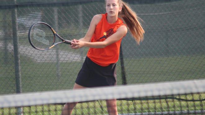 Daily Express file photo of Kirksville's Gracie Riemenschneider