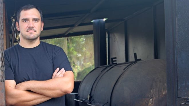 LeRoy & Lewis co-owner and pitmaster Evan LeRoy.