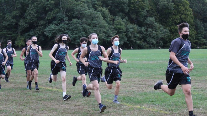 Plymouth South boys cross-country defeated Pembroke Wednesday to win a second Patriot League Fisher Division title in a row.