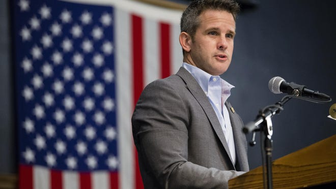 U.S. Rep. Adam Kinzinger in Rockford in 2016.