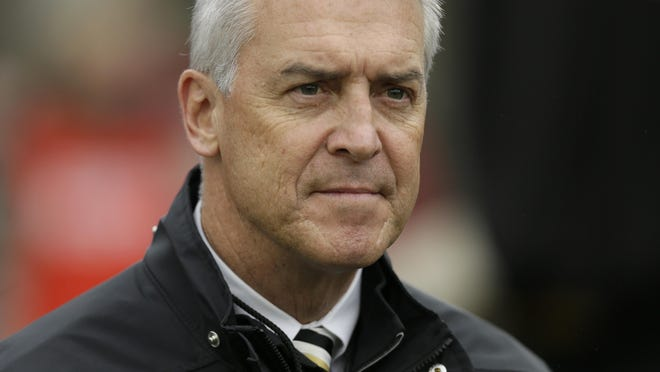 Iowa athletics director Gary Barta said the decision to end the Hawkeyes' men's gymnastics, men's and women's swimming and men's tennis programs created one of the most challenging days of his 33 years in college athletics.