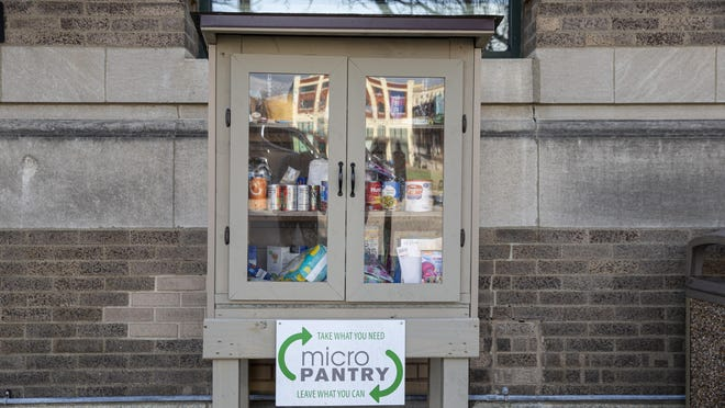Micropantry in the 400 block of South Fifth St.