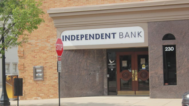 The Independent Bank Ionia Main branch, 230 W. Main St., in downtown Ionia is closing on July 31.