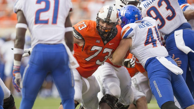 Oklahoma State offensive lineman Teven Jenkins, a Topeka High product, is No. 63 on The Capital-Journal's list of the Top 125 Shawnee County Athletes.