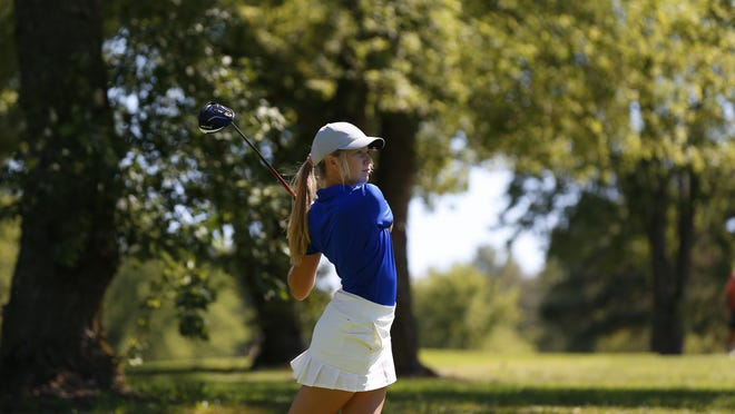 Washburn Rural senior Madelyn Luttjohann, who finished tied for ninth at this year's Class 6A state tournament, was named first-team All-Class 6A by the Kansas Golf Coaches Association.