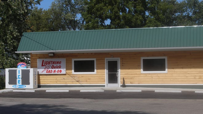 Lightning Quick Gas-N-Go convenience store at the corner of East Maumee Street and Parr Highway is set to reopen today. A fire destroyed the building in April.