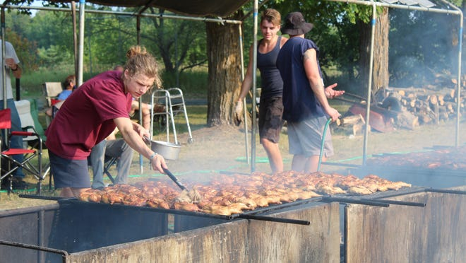 For the first time in 100 years, the annual chicken barbecue at the Burt Lake Community Center has been canceled due to COVID-19. Tribune File Photo by Kortny Hahn