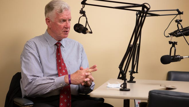 Dave Lindstrom, a former Johnson County commissioner, sits down with the Topeka Capital-Journal on Thursday for a podcast discussing his running for the Kansas seat in the U.S. Senate.