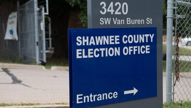 The Shawnee County Election Office at 3420 S.W. Van Buren St. will install ballot drop boxes for the upcoming general election in November.