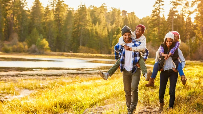 Fall is one of the best times of the year to get out into nature, and take your kids, to hike and explore.