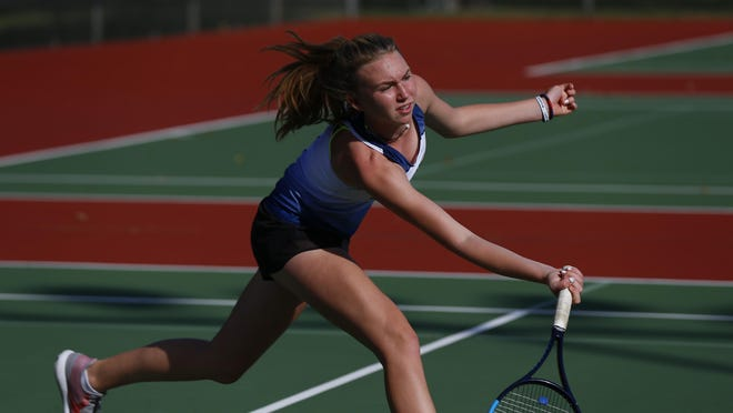 Manhattan's Jillan Harkin suffered just one loss last year as a freshman, taking third at the Class 6A state tournament. Harkin takes a 28-0 record to state this year, looking to complete the undefeated season.