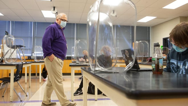 Such COVID-19 protocols as wearing masks, keeping 6 feet of social distance and emphasizing proper personal hygiene have helped Topeka West High School and other schools in Shawnee County prevent the spread of COVID-19 in classrooms.