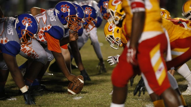 Cedar Shoal lines up against Clarke Central in a battle of Athens.