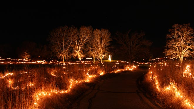 """The 2020 Winter Luminary Walk """"The Prairie Sleeps"""" will be from 5:30 to 8 p.m. Nov. 27 to 29 and Dec. 4 to 6 with five, half-hour reserved slots each night at the Dyck Arboretum of the Plains, 177 W. Hickory in Hesston."""
