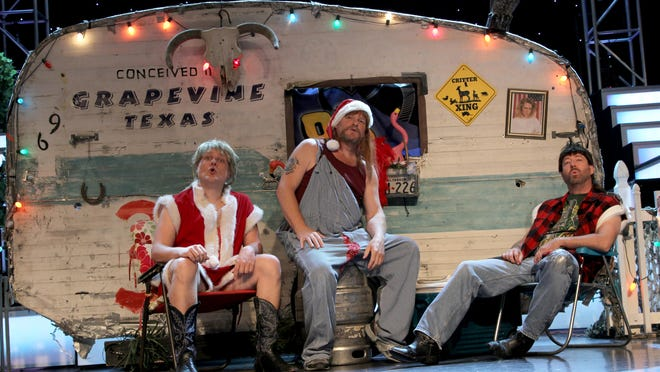 RESCHEDULED - The 3 Redneck Tenors Christmas SPEC-TAC-YULE-AR that was originally scheduled at Hardin Auditorium on Dec. 3 has been rescheduled for Dec. 2, 2021.