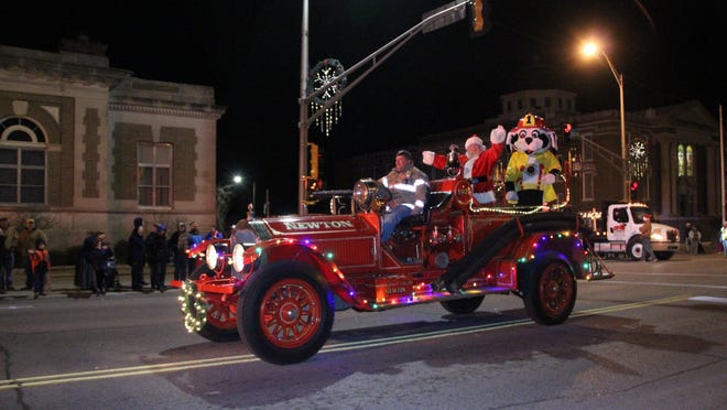 Santa will not be making a trip downtown as part of the Parade of Lights this year. The Lions Club first moved the event to Athletic Park and attempted to create a reverse parade as a drive thru-event before a lack of entries forced cancellation.