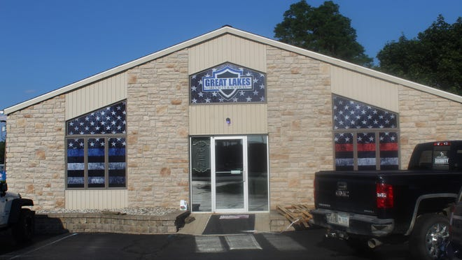 Great Lakes Tactical Supply, 4315 N. Adrian Highway. The store opens today at 9 a.m. CEO Travis Howell said he hopes the store can offer a local, brick and mortar option for law enforcement and first responders.