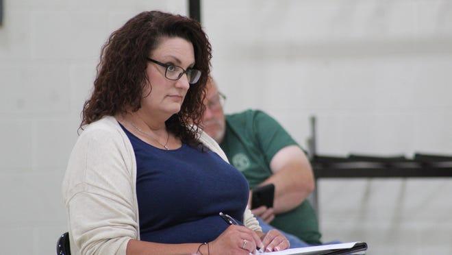 Nancy Spray, Cheboygan High School Principal, recently updated the school board members on how this school year has been going in her building. Tribune File Photo by Kortny Hahn
