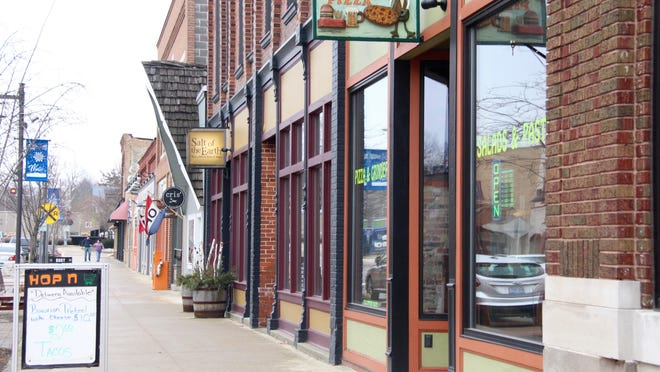 Fennville was one of the first Allegan County communities