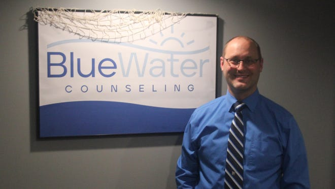 Jason Flohr is clinical director of Bluewater Counseling, which opened Thursday, Oct. 22, at 2005 E. Bluewater Highway in Ionia.