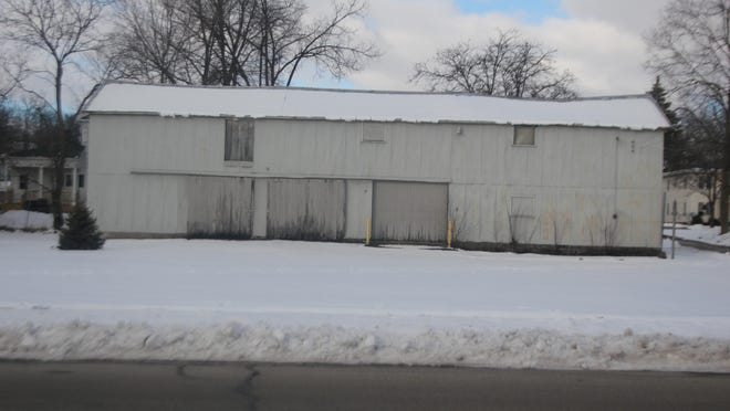 As part of the property transfer agreement between the city of Ionia and the Ionia Community Library, the ICL will tear down the storage building at 178 Adams St. in Ionia and sell the property.