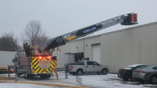 The Ionia Department of Public Safety was dispatched to a fire at 3:22 p.m. Jan. 4, at Volcor Finishing Inc., 510 Apple Tree Drive, in Ionia.