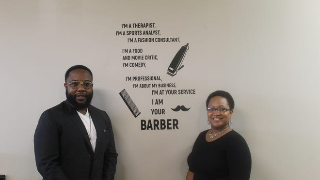 Gerod and Stephani Sturgis founded Basilio Barbershop in downtown Adrian in 2015. This fall, the two will open Legacy Barber College, 1114 S. Winter St., Adrian. The college will help students obtain a barber's license while also teaching life skills.