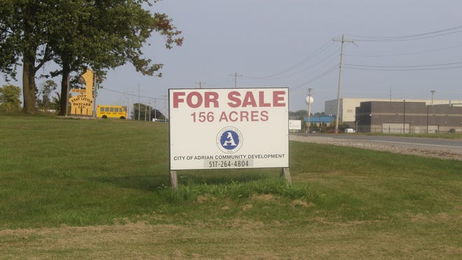 The city of Adrian struck a deal with Objectiv Growth, a marijuana company, for 20 acres of land on the north side of West Beecher Road, across from Fluresh. The sale is for $500,000.