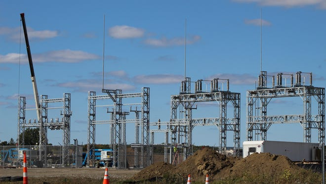 Consumers Energy is building an electric substation on the north side of West Beecher Road, across from Fluresh. The company said there has been a growth in commercial and residential customers, resulting in a need for more capacity.