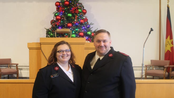 Melinda and Jacob Tripp are the new captains of the Salvation Army in Adrian. The come from Wisconsin, where they have served for the past eight years. Both are originally from Michigan.