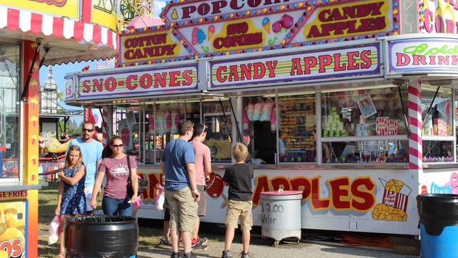 Although the Cheboygan County Fair was canceled this year due to COVID-19, area residents will still be able to get their fair food fix Sept. 3-6 when Skerbeck Entertainment brings three food trucks to the fairgrounds. Tribune File Photo by Kortny Hahn
