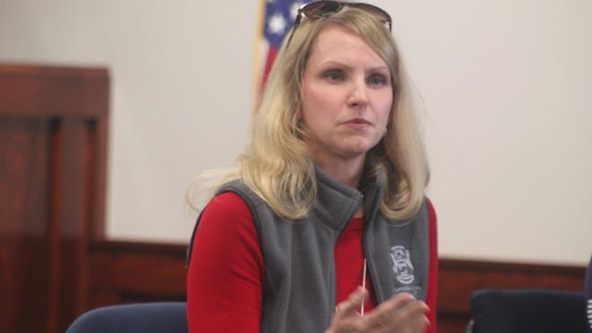 Julie Calley. Calley has called on the state unemployment agency to take steps to process backlogged claims.