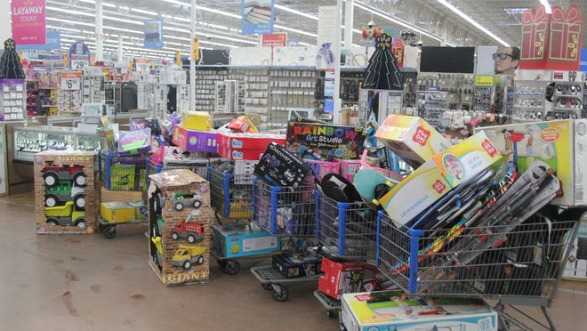 Ionia County Toys for Tots is asking for donations ahead of its distribution, which is set for Dec. 19 at the Ionia Free Fair.