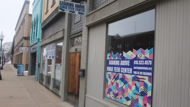 Soaring Above Ionia Teen Center, 410 W. Main St., in downtown Ionia, is relocating after the sale of the building where the center is located, said owner Ken Baker.