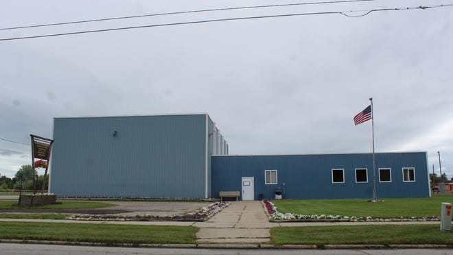 The Cheboygan Recreation Center on Cleveland Ave. is currently closed to the public, but there has been some work done on the facility recently. Doyle Roofing recently put a new roof on the building. New windows and insulation in the roof were also installed. Tribune File Photo by Kortny Hahn