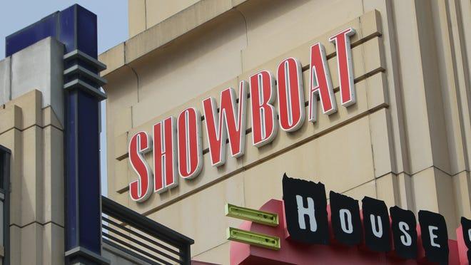 The Showboat Casino on the Atlantic City Boardwalk.