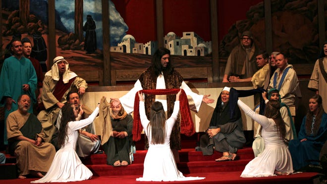 """Members of Ankeny First United Methodist Church perform """"For Such a One as This"""" this weekend."""