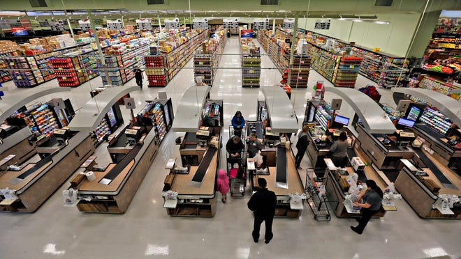A Price Chopper grocery store in Overland Park Kansas on Wednesday, March 18, 2015.